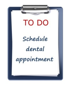 Dental appointment